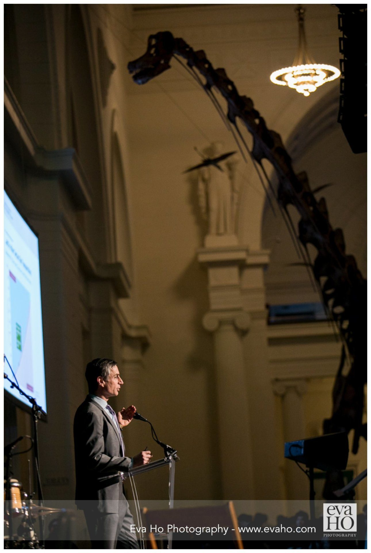 opening of Field Museum, Night of Ideas event, Chicago