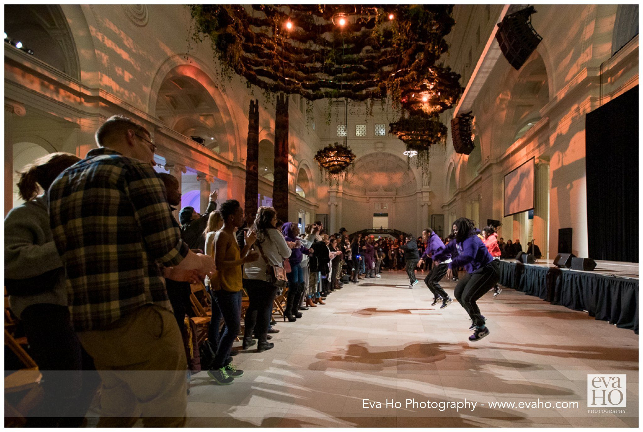 dancers perform at Field Museum's Alive event